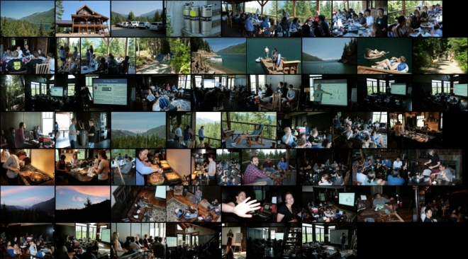 Shendure Lab 2015 Retreat (Lake Kachess, photos by Martin Kircher)